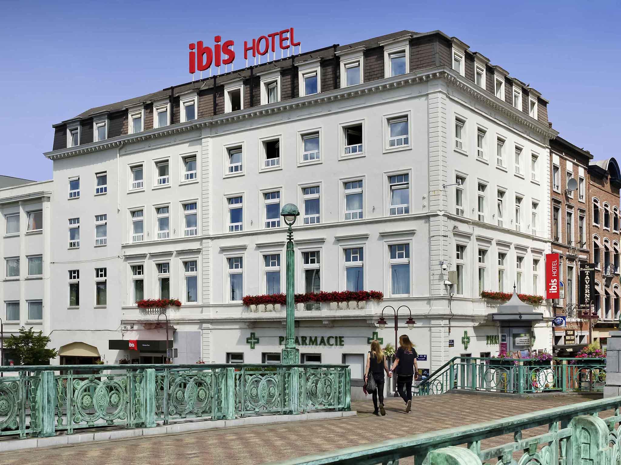 L'hôtel Hotêl IBIS Charleroi centre gare